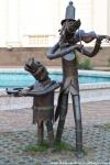Сочи. Скульптура Уличные музыканты