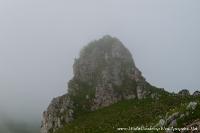 Скала в тумане