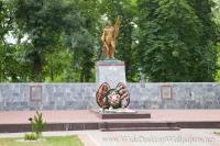 Северская. Памятник воинам.
