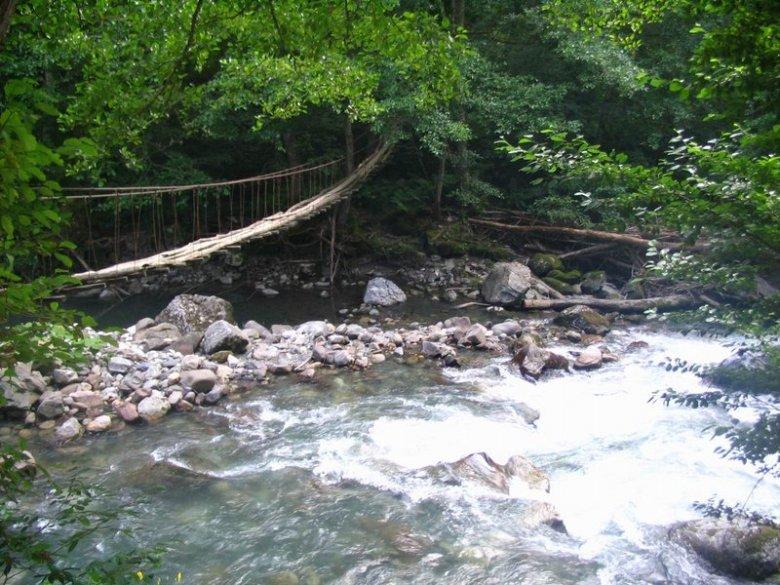 Мост через Шахе